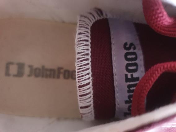 Zapatillas Originales John Foos 182 Crawler Cherry N 39