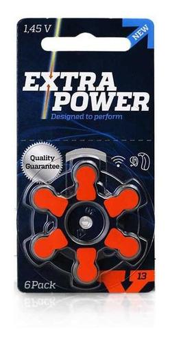 Imagem 1 de 3 de Bateria Extra Power 13 / Pr48 - Cartela Com 6 Unidades