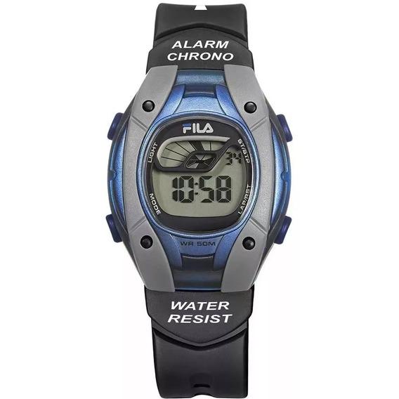 Relógio Unissex Fila Digital Esportivo Fl457-04