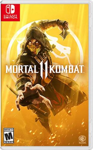 Mortal Kombat 11- Nintendo Switch Fisico Nuevo Y Sellado