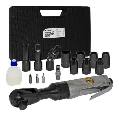 Kit Chave Catraca 1/2 Pneumática Mxt-0511ak Maxx Tools