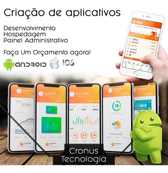 Criamos Aplicativos -android/ios- Completo.