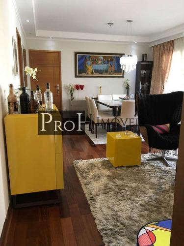 Imagem 1 de 15 de Apartamento Para Venda Em São Caetano Do Sul, Santa Paula, 3 Dormitórios, 3 Suítes, 4 Banheiros, 2 Vagas - Rafrose_1-1612824