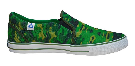 Zapatillas Pancha Le Coq Sportif William Camo Green Urbanas