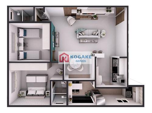 Imagem 1 de 2 de Apartamento Com 2 Dormitórios À Venda, 75 M² Por R$ 312.270,00 - Vila Maria - São José Dos Campos/sp - Ap7587