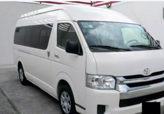 Toyota Hiace 2015 Transporte Privado