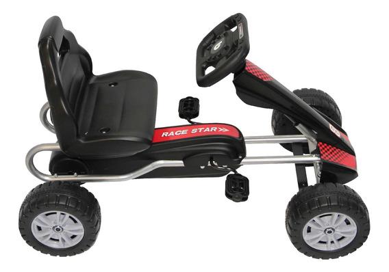 Go Kart De Fierro Negro Rs-9921