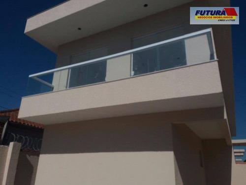 Imagem 1 de 21 de Sobrado Com 2 Dormitórios À Venda, 65 M² Por R$ 230.000,00 - Jardim Guassu - São Vicente/sp - So0195
