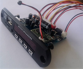 Decodificador Amplificado Stereo 2x15w E Com Saída De Linha