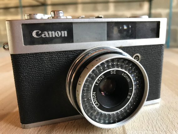 Câmera Fotográfica Canon Canonet Jr.