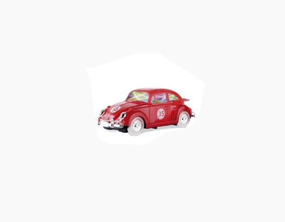 Carrinho Bate Bate Fusca Vermelho - Zoop Toys Zp00221