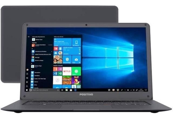 Notebook Positivo Motion Q232a + Intel Quad-core + Lcd 14,1