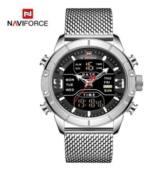 Relogio Naviforce Digital Pr Dagua Original 4 Cores R84 Lxbr