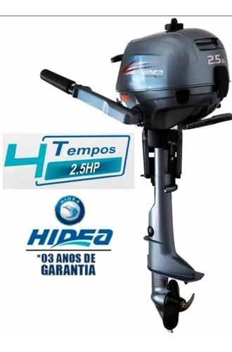 Motor Hidea 2.5hp 4 Tempos Zero