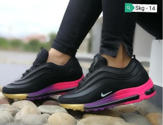 Zapatos Nike Air Max 97 Damas 35 A 40 Skg 14