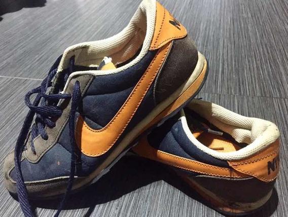 Zapatilla Nike Azul 24 Cm Usada Consultar Almagro