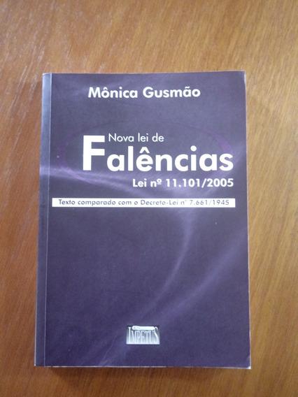 Livro Nova Lei De Falências Autora Mônica Gusmão .obc Store