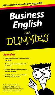 Business English Para Dummies De Varios Autores - Papf