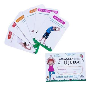 Juego De Yoga Para Niños 10 Sobres Souvenir Cumpleaños