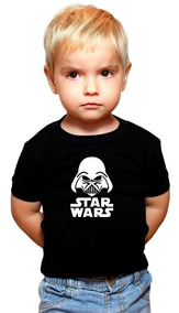 Camiseta Masculino Infantil - Star Wars