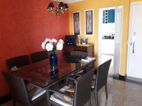 Apartamento Com 3 Dormitórios À Venda, 82 M² Por R$ 560.000,00 - Tatuapé - São Paulo/sp - Ap0488
