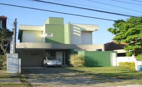 Casa Com 4 Dormitórios Para Alugar, 314 M² Por R$ 7.000,00/mês - São Paulo Ii - Cotia/sp - Ca0479