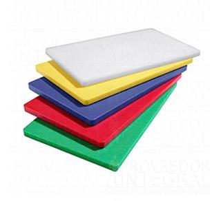 Tabla Picar Cortar Profesional Colores Surtidos 30x20x1 Cm