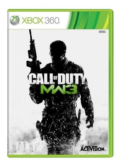 Jogo Call Of Duty: Modern Warfare 3 (mw3) - Xbox 360 Usado