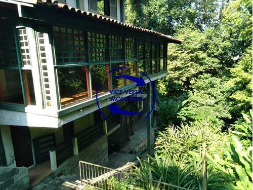 Gávea, Casa Com 308m² Em Condomínio Fechado, Local Nobre No Meio Do Verde - 1377