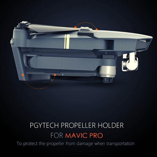 Imagen 1 de 8 de Dji Mavic Pro Sujetador Propelas Pgytech - Inteldeals