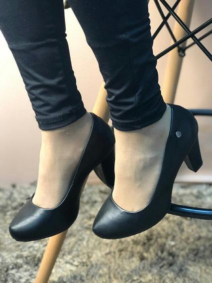 Zapatos Via Uno Negros