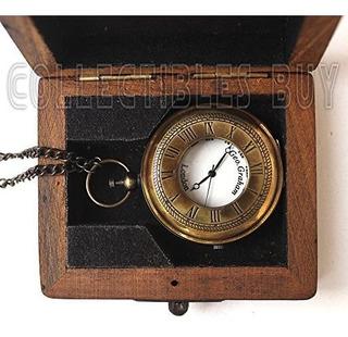 Sailor Pocket Watch Marine Brass Lovers Gift Royal Navy