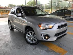 Mitsubishi Asx + Plus Piel Gps Quemacocos Panorámico 2015