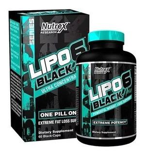 Lipo 6 Black Hers Ultra Concentrado Nutrex 60 Caps