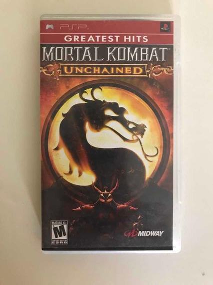 Jogo Para Psp-mortal Kombat Unchained 100% Original
