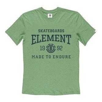 Remera M/c Element Victory Tee Verde Hombre 21107011