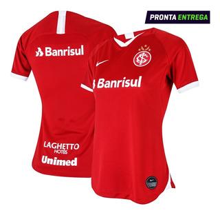 Camisa Inter Titular Feminina 19/20