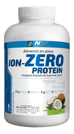 Proteina Nst Ion Zero Protein 3 Lb (1.360 Kg) Cero Carbs