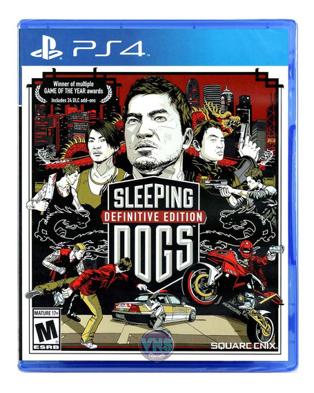 Sleeping Dogs Definitive Edition - Ps4 - Mídia Física - Novo