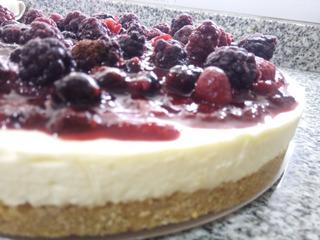Cheesecake Frutos Rojos | Torta - Frambuesas Moras Arandanos