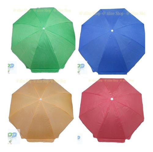 Parasol Sombrilla 3.20 Mts Alt  Impermeable Tela Elije Color