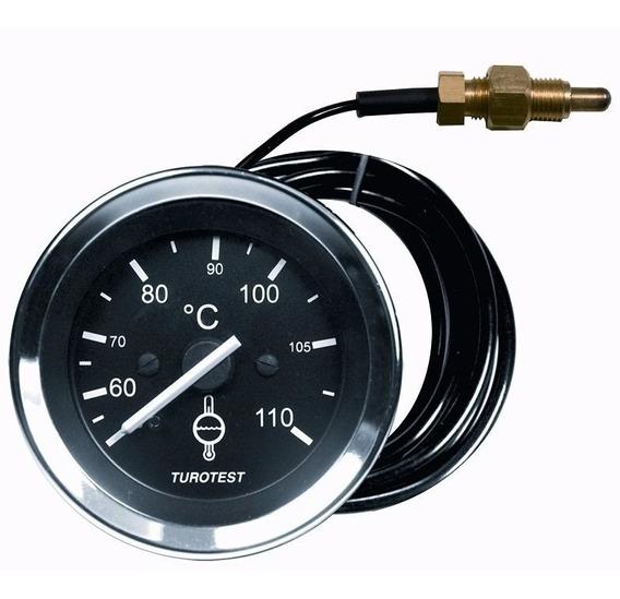Indicador Temperatura Universal 52mm 40 A 110 Aro Zincado