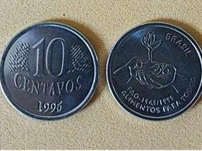 Moeda Fao 10 Centavos 1995
