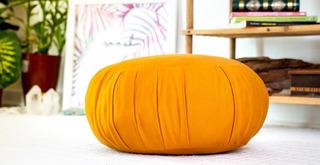 Promoção! Almofadas De Meditação/zafu Super Confortáveis