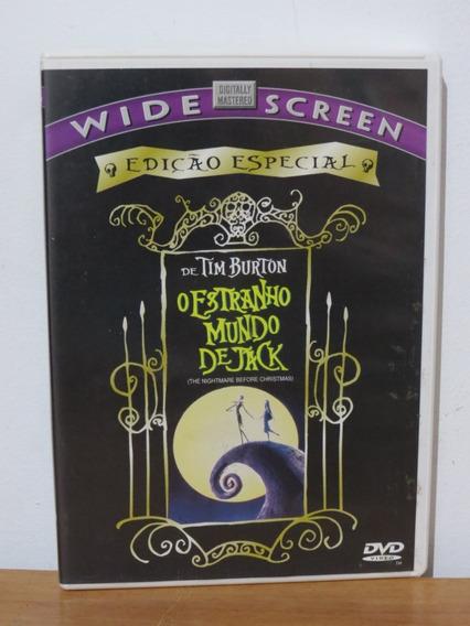 Dvd O Estranho Mundo De Jack Tim Burton Original