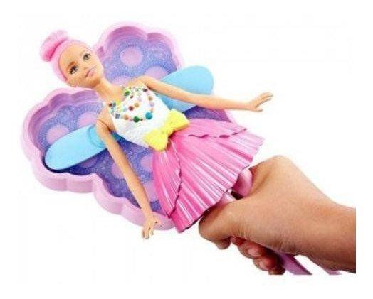 Barbie Fan Fada Bolhas Magicas Mattel