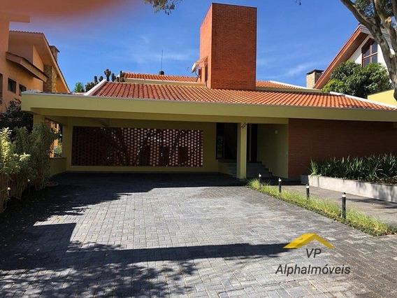 Casa Para Alugar No Bairro Alphaville Residencial Um Em - Vpr01-3s-2
