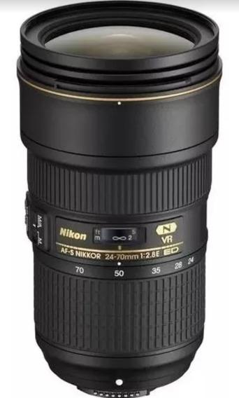 Lente Nikon Af -s Nikkor 24-70mm F/2.8e Ed Vr