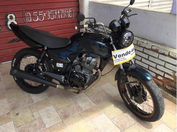 Honda Titan 125cc Pedal E Partida 2003/03 Custom