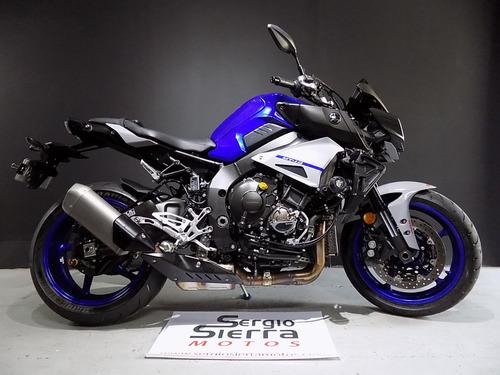 Yamaha Mt10 Azul 2020